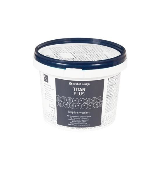 Klej do styropianu - Marbet Titan Plus 4 kg