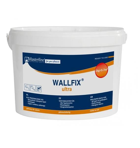 Gotowy klej do tapet - Masterline Wallfix Ultra 3kg